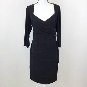 White House Market Black Instantly Slimming Dress